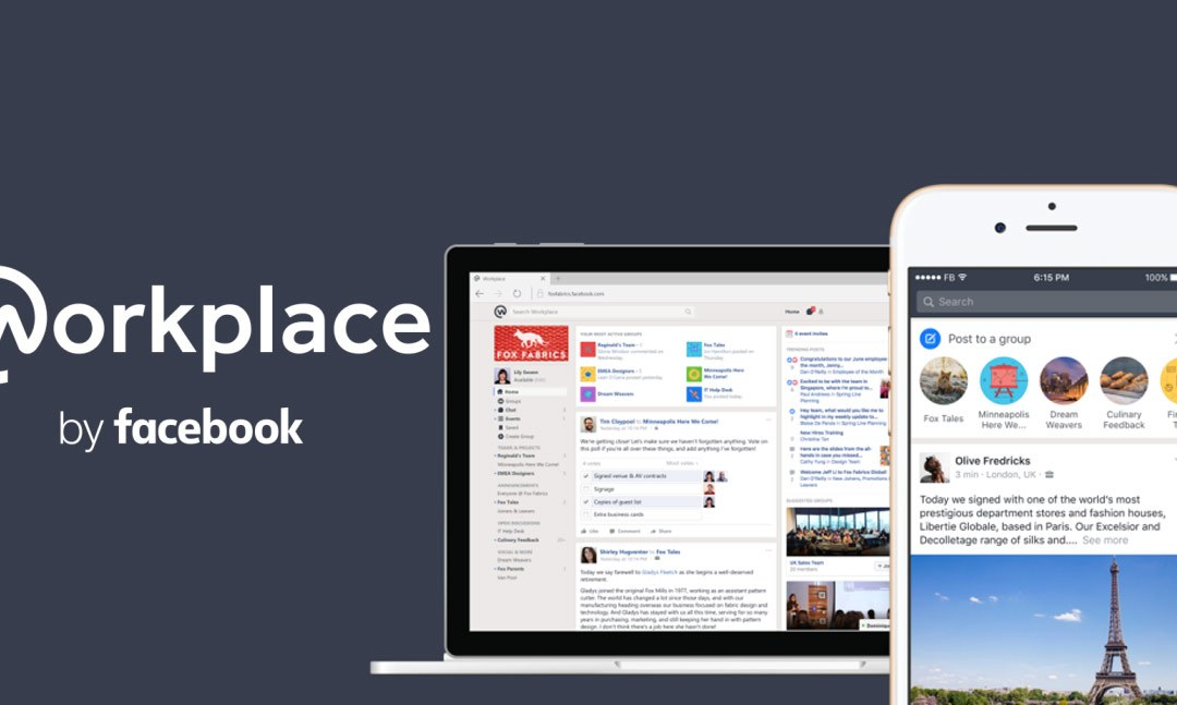 WORKPLACE BY FACEBOOK ARRIVA IN ITALIA
