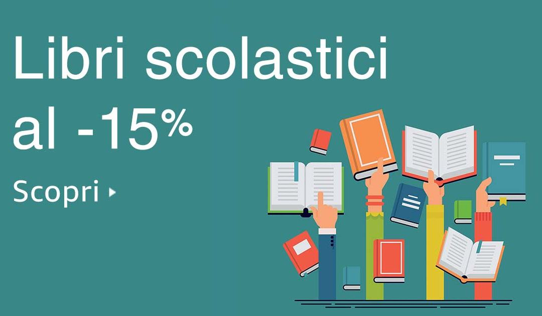 Amazon.it Back to school: 15% di sconto su tutti i test scolastici e migliaia di prodotti per la scuola