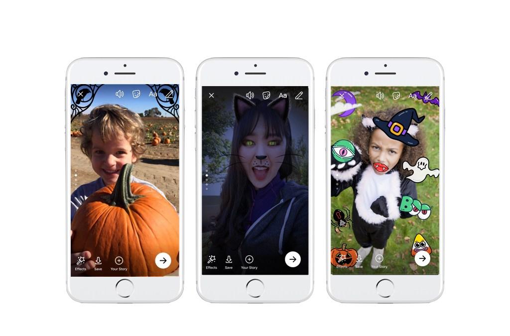 Facebook, Messenger e Instagram festeggiano Halloween con nuove funzionalità… da paura!