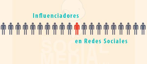 Los influenciadores en Redes Sociales son la clave para el éxito de la estrategia de marketing