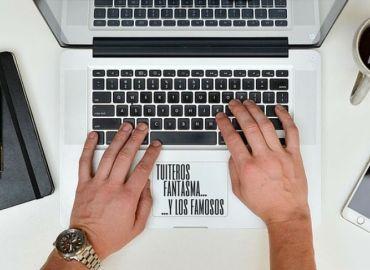 Hablando de tuiteros fantasma en @PRNoticias. Imagen de PR Noticias.