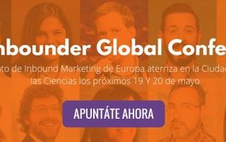 The Inbounder Global conference, el mayor evento de Inbound Marketing de Europa llega a Valencia