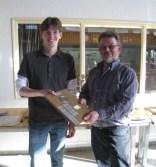 Der diesjährige Einzelsieger der Schützenklasse Michael van Bühren