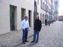 Präsident Rudi van Bühren und der stellv. Präsident Rainer Koppers planten das Wochenende in Münster im Liudgerhaus.