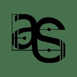 Anton Schefter Logo, Black