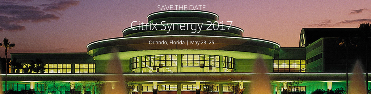 Citrix Synergy 2017