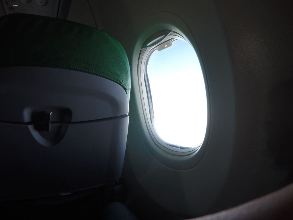 View from an aircraft window