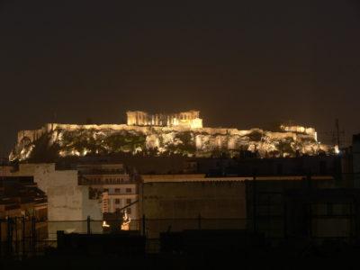 Akropolis vom Hotel Polis Grand aus