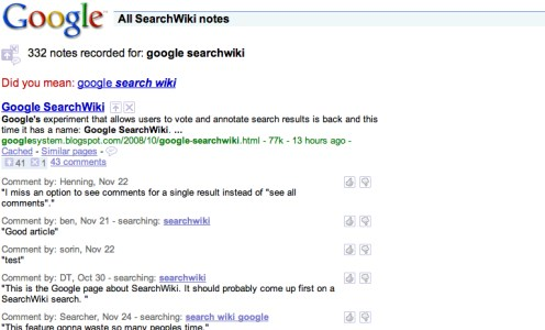 Google SearchWiki: brands need to watch & listen