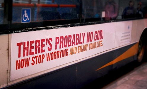 Useful advertising: Atheist bus ads