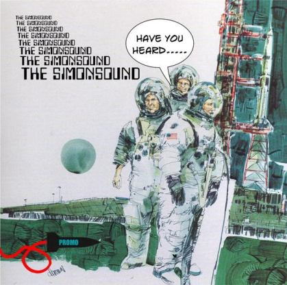 Image: The Simonsound's album cover makes use of retro space age images