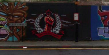 Image: More New Engalnd Quarter graffiti from Brighton