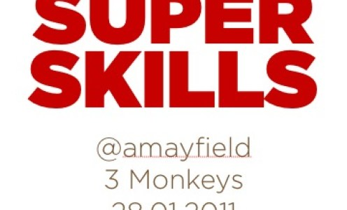 SuperSkills at 3 Monkeys – some more thoughts and writing a second book
