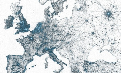 Maps made of tweets