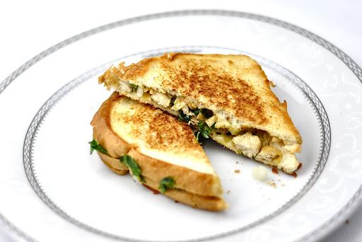 GRILLED CHICKEN SANDWICH – INDIAN STYLE