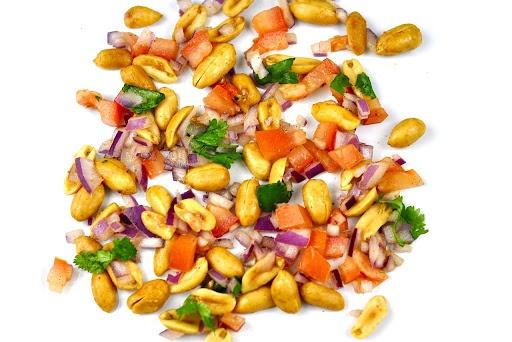 peanut masala (Chat)- 5 Min Snack