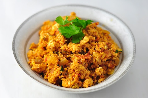 TOMATO EGG BHURJI – A PROTEIN PACKED SIDE IN 20 MINS