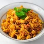 tomato egg bhurji