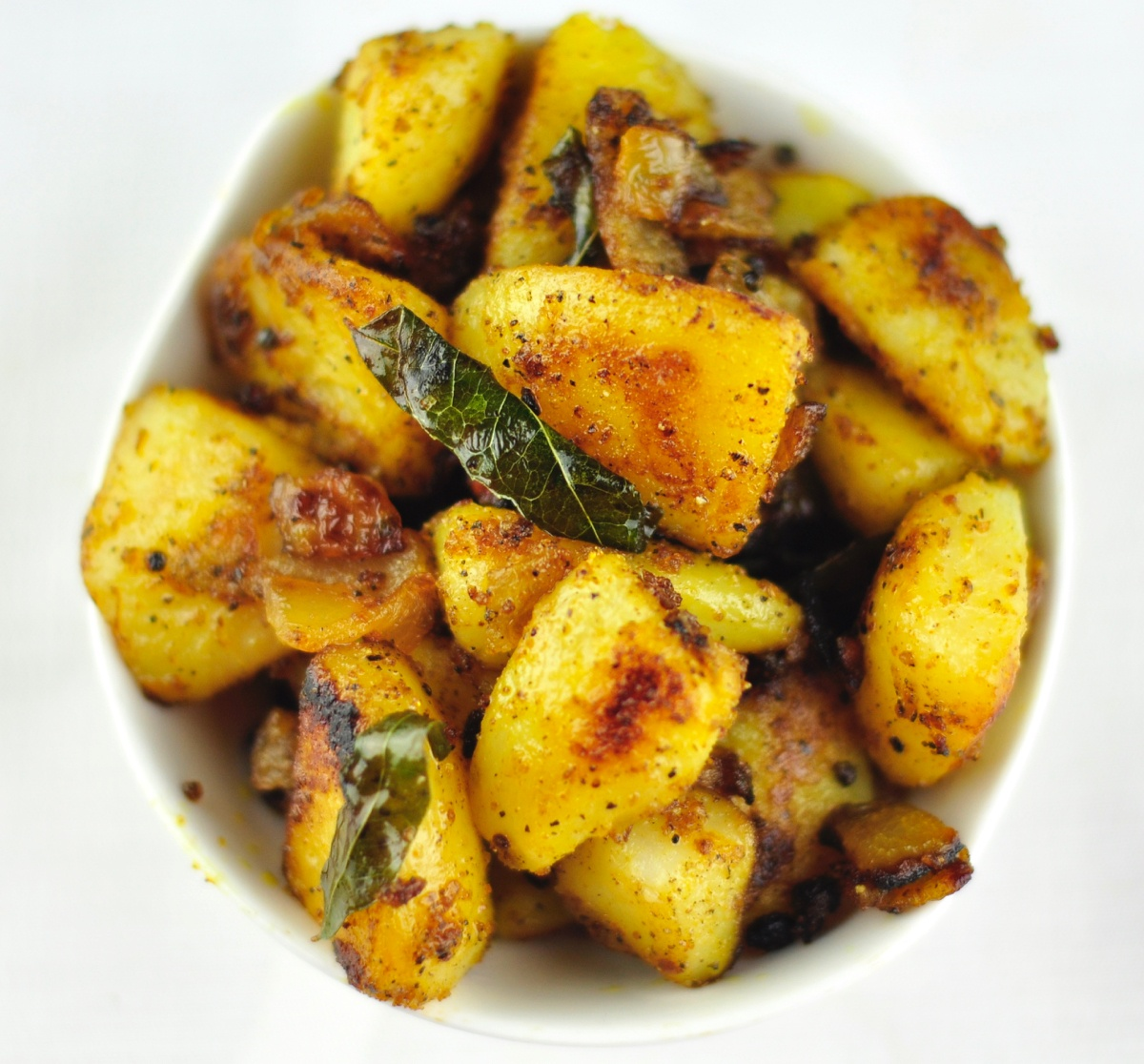 aloo pepper fry
