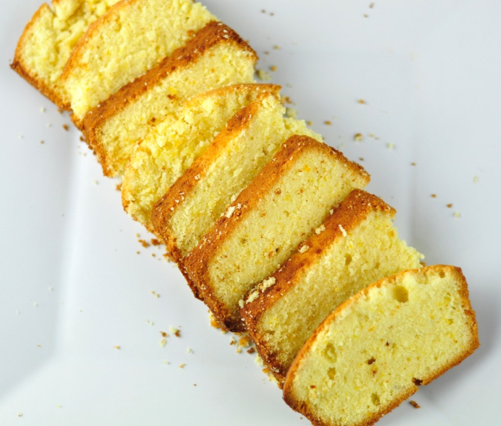 ORANGE POUND CAKE – SOFT AND SPONGE CAKE