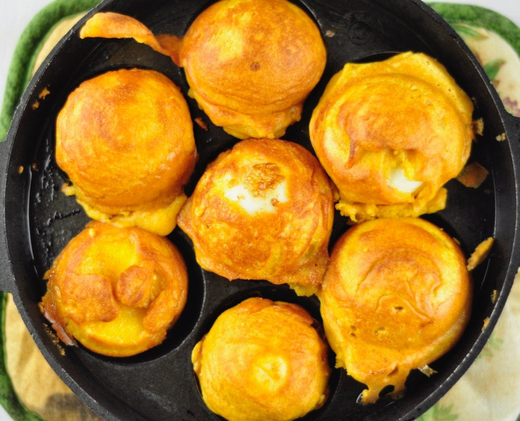 Egg Bonda in Paniyaram Pan
