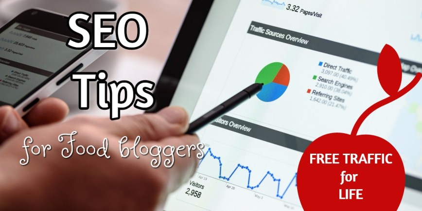 SEO tips for food blog