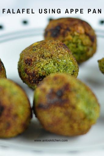 falafel in appe pan
