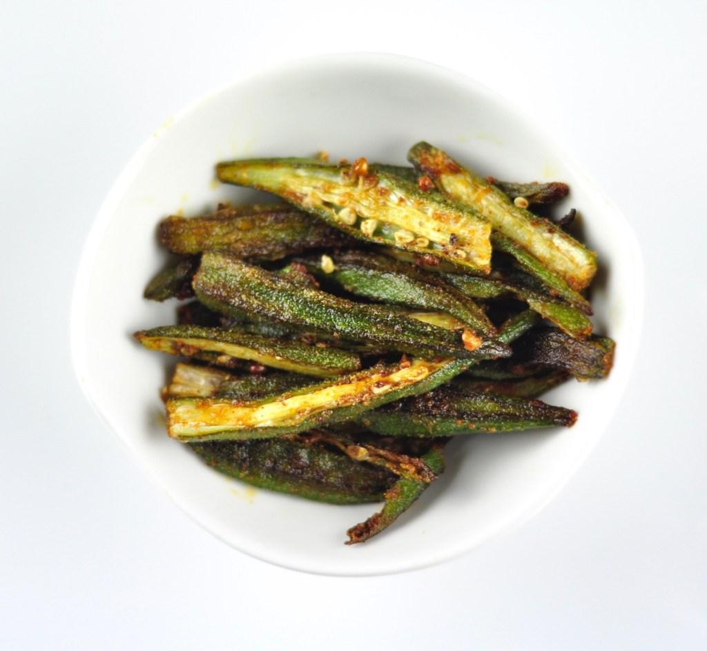 oven roasted okra