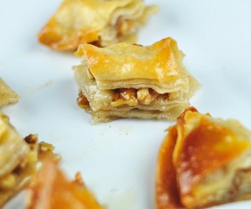 BAKLAVA WITH HOMEMADE PHYLLO DOUGH