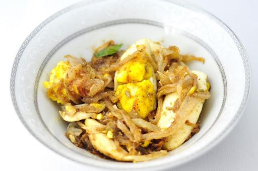 egg pepper fry