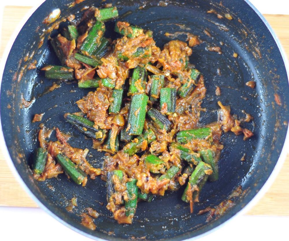 Bhindi Masala Okra fry