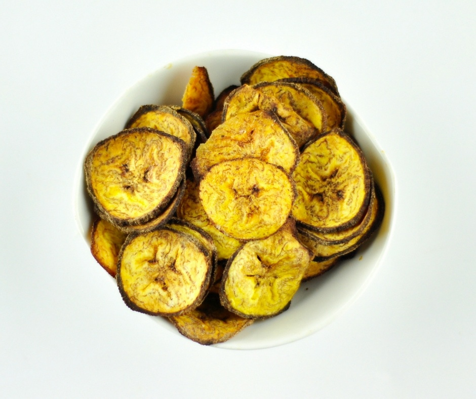 baked plantain chips recipe