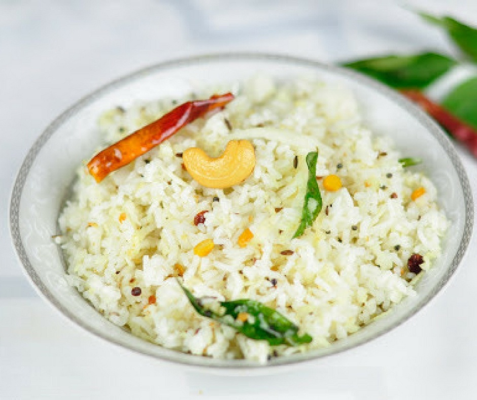 COCONUT RICE – AN EASY LUNCH BOX RECIPE