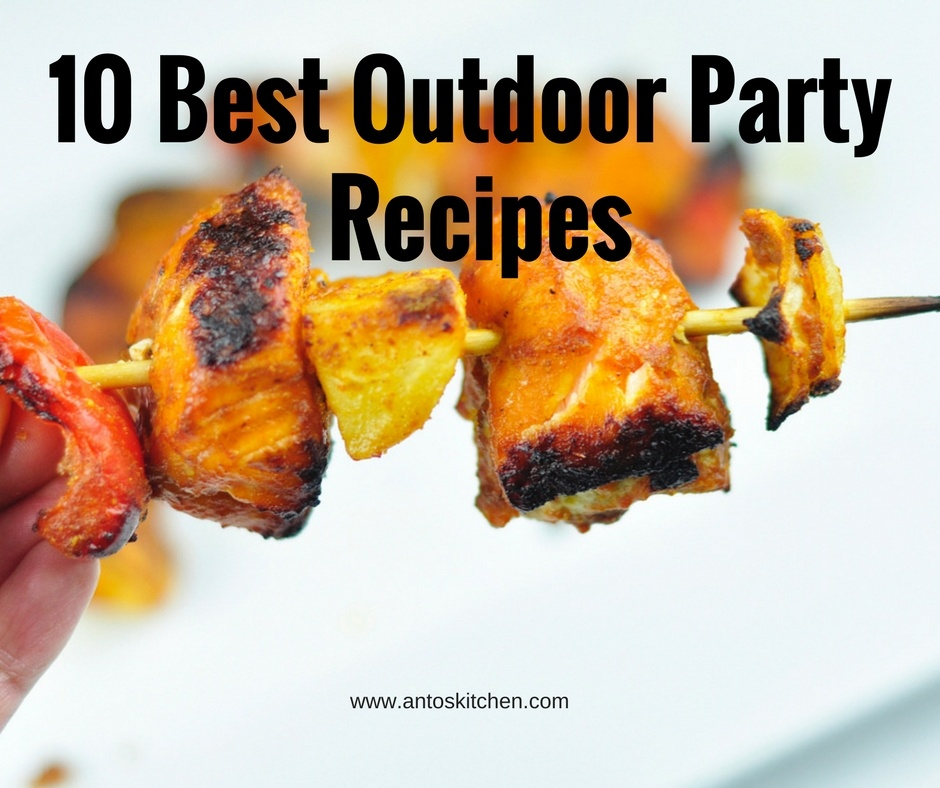 outdoor party recipes