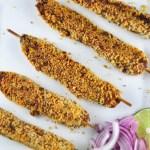 vegetable seekh kebabs