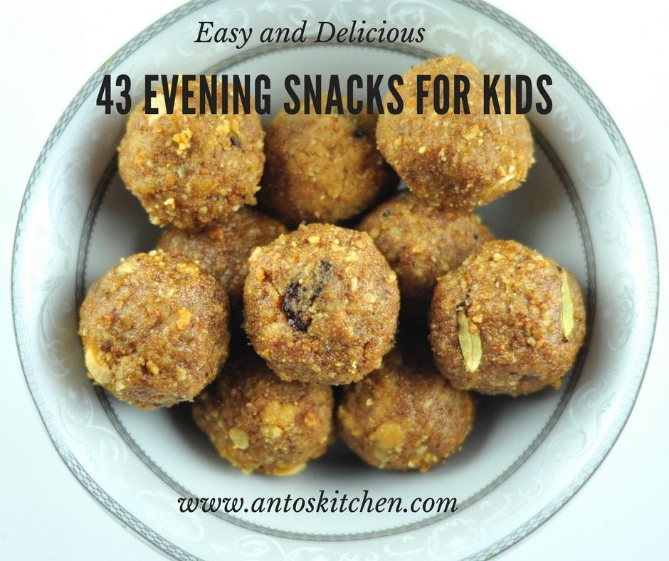 43 Easy Evening Snacks for Kids