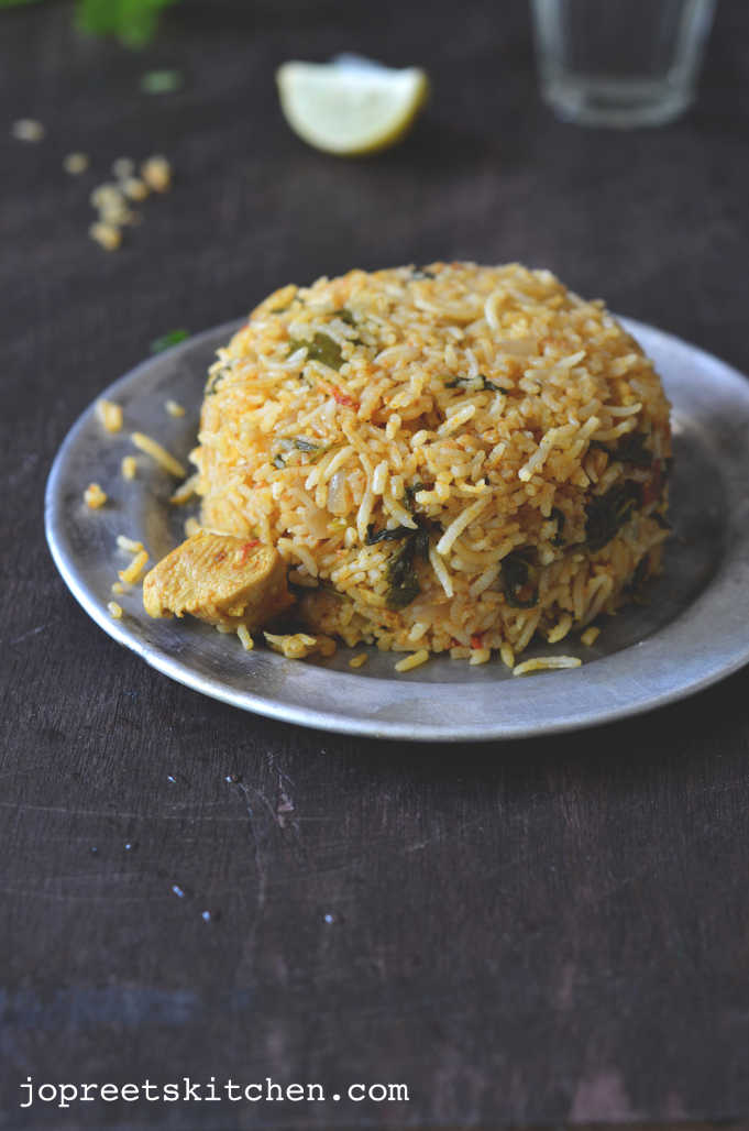 ambur chicken biryani