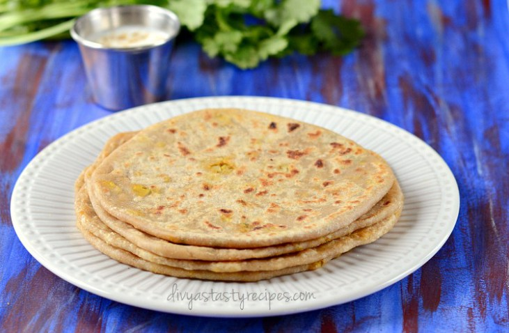 cauliflower-paratha