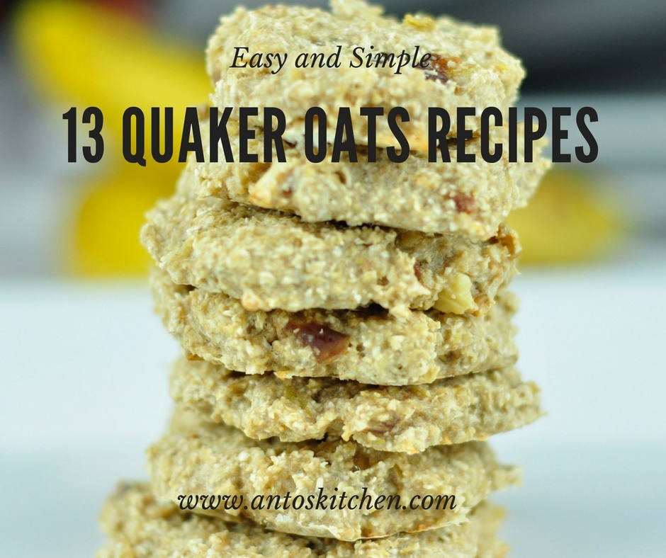 13 Quaker Oats Recipes