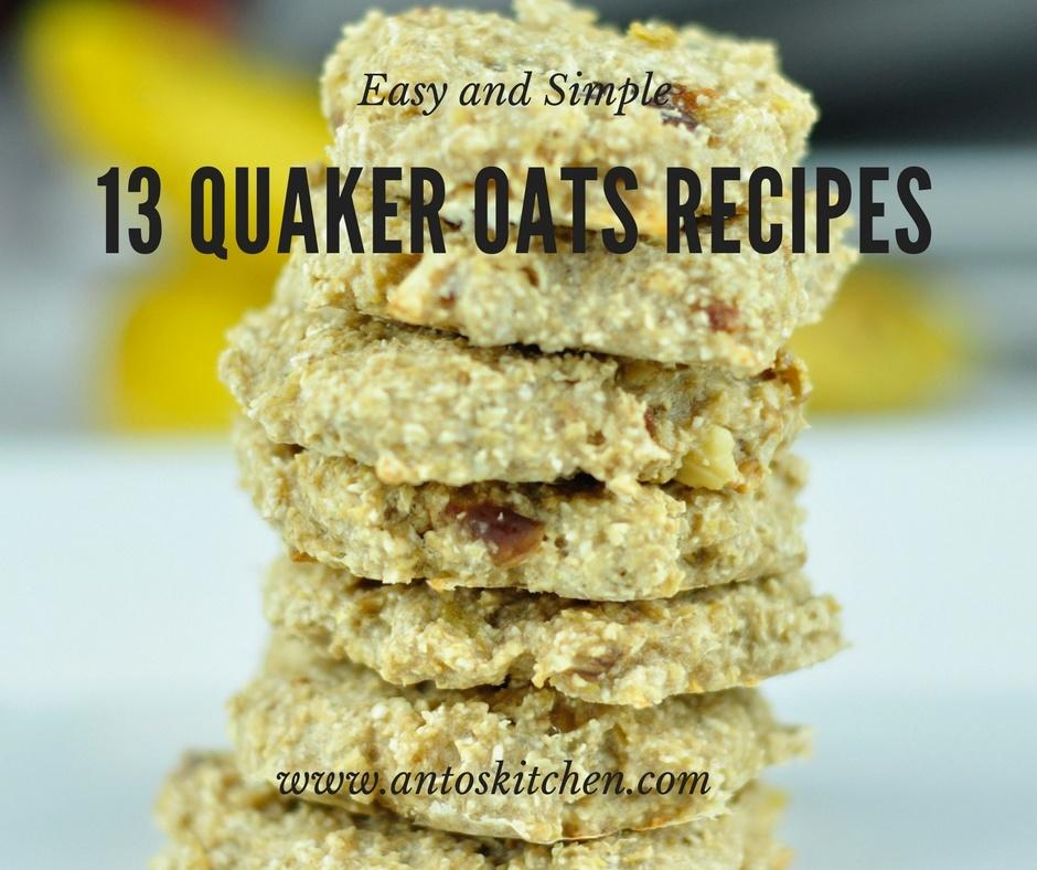 quaker oats recipes