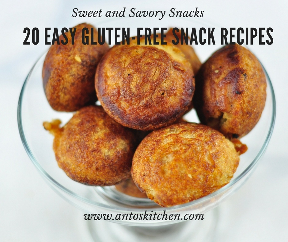 20 Easy Gluten-Free Snack Recipes