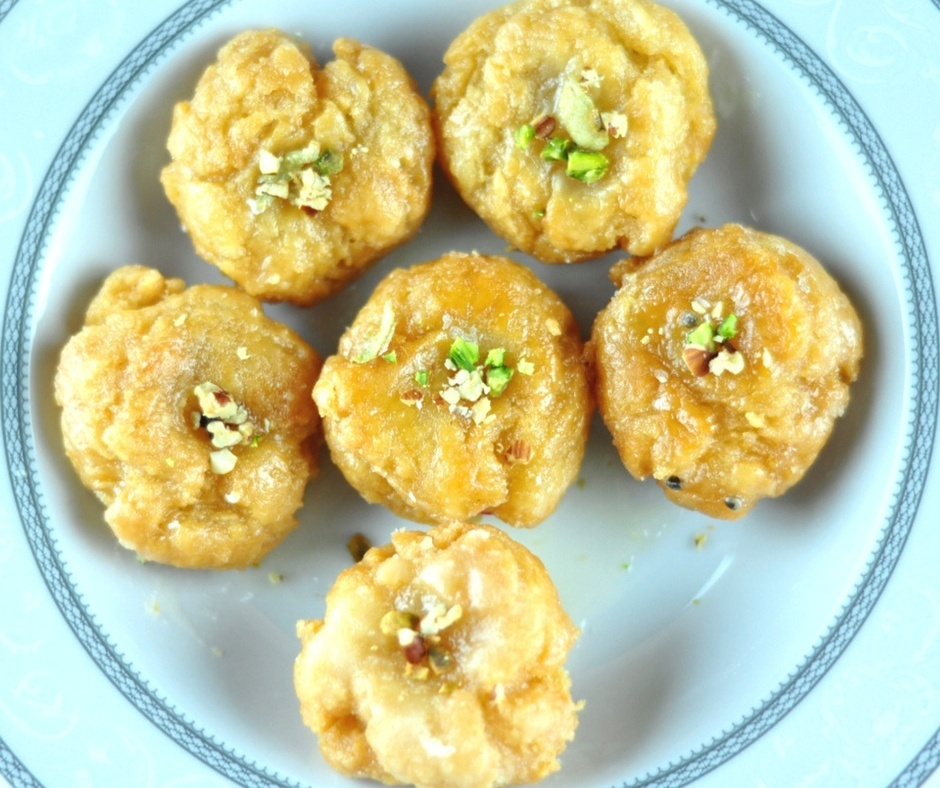Badusha Indian Sweet