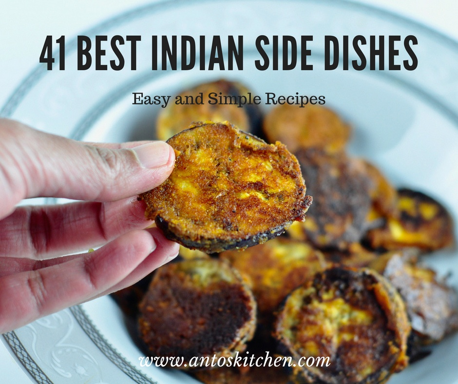 41 Best Indian Side Dishes