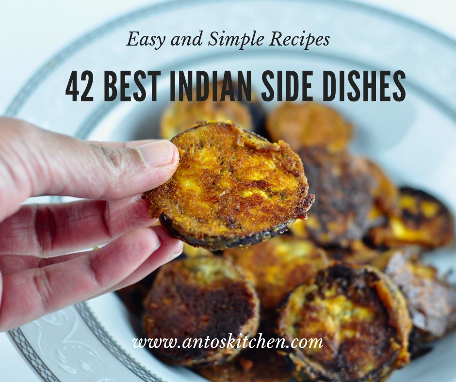 42 Best Indian Side Dishes