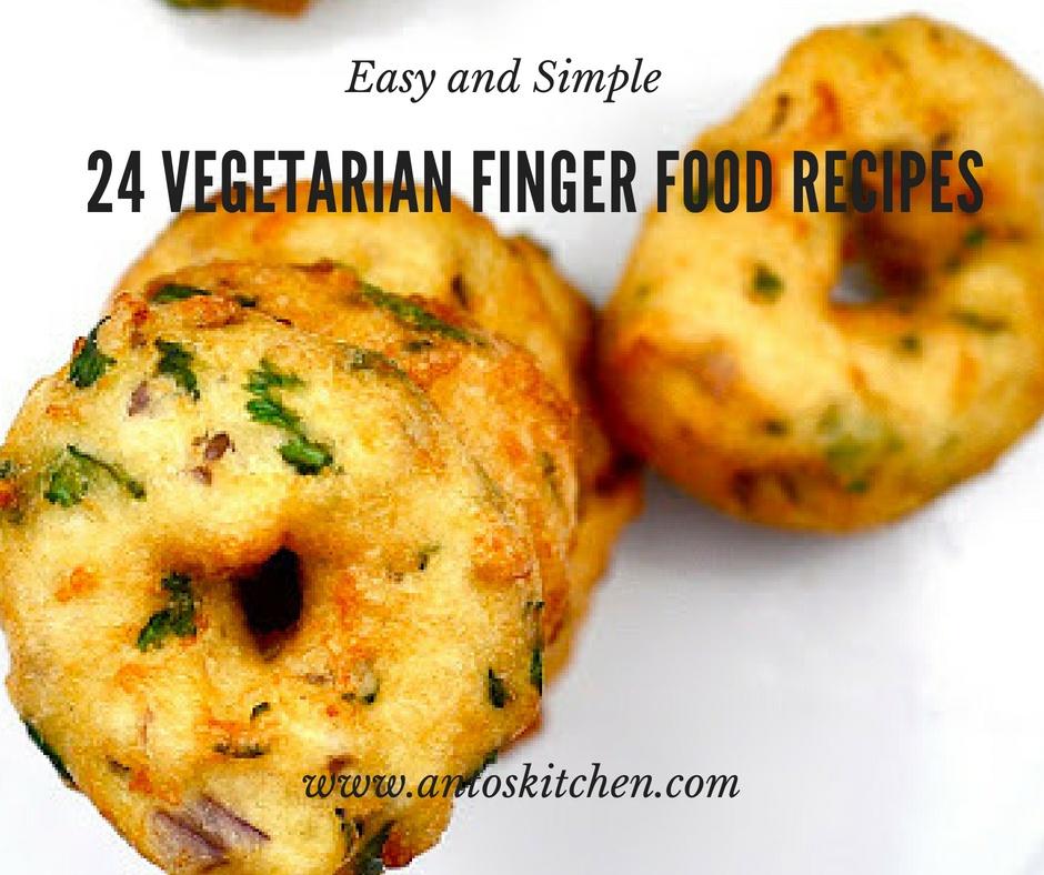 vegetarian finger foods