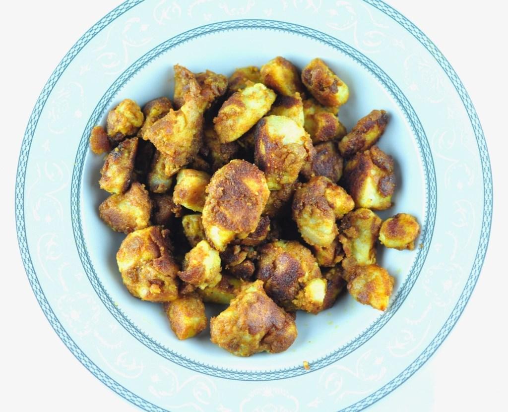 South Indian Arbi Roast