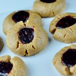 peanut butter jelly cookies