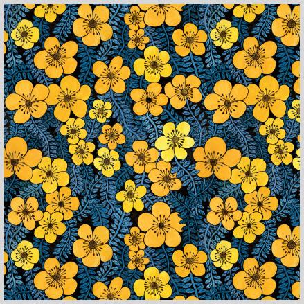 Twiny Flowers Gul