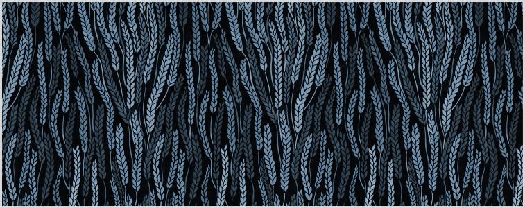 Sädesbölja Blå