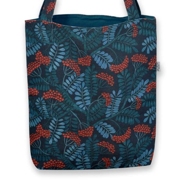 Väska Rönnbär blå